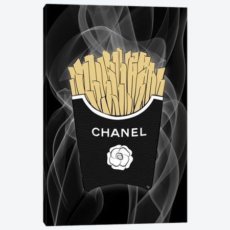 Chanelfries Canvas Print #PAV490} by Martina Pavlova Canvas Art