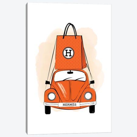 Hermes Car Canvas Print #PAV492} by Martina Pavlova Canvas Wall Art