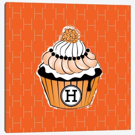 Hermes Cupcake Canvas Print #PAV494} by Martina Pavlova Art Print
