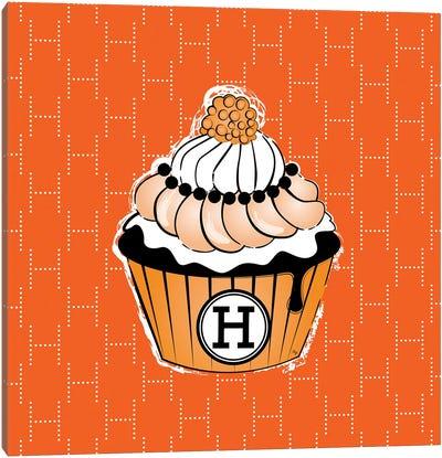 Hermes Cupcake Canvas Art Print