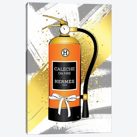 Hermes Fire Canvas Print #PAV496} by Martina Pavlova Art Print
