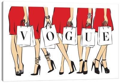 Vogue I Canvas Art Print