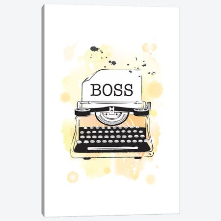 Boss Canvas Print #PAV4} by Martina Pavlova Canvas Art Print
