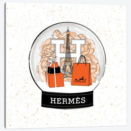 Hermes Snow Ball Canvas Print #PAV501} by Martina Pavlova Canvas Art