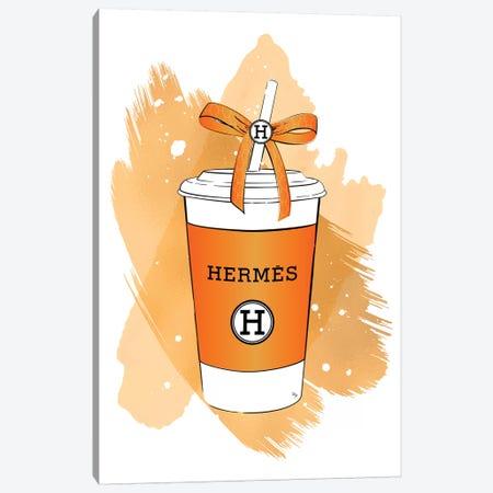 Hermes Soft Drink Canvas Print #PAV502} by Martina Pavlova Canvas Wall Art