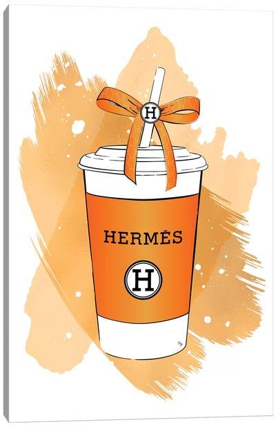 Hermes Soft Drink Canvas Art Print