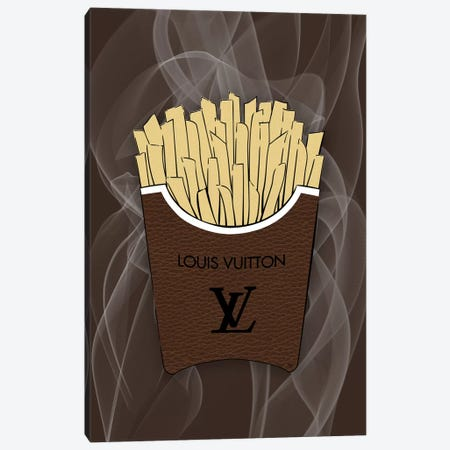 LV Fries Canvas Print #PAV509} by Martina Pavlova Canvas Art