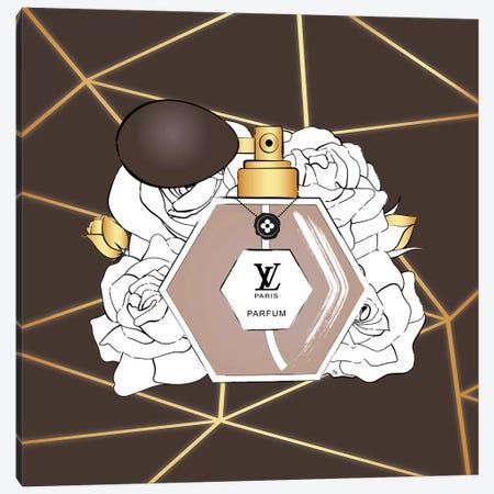 LV Perfume Canvas Print #PAV511} by Martina Pavlova Canvas Art Print