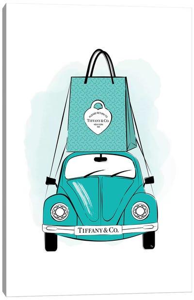 Tiffany Car Canvas Art Print