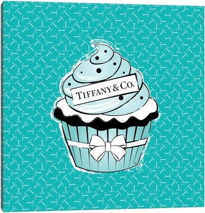 Tiffany Cupcake Canvas Art Print