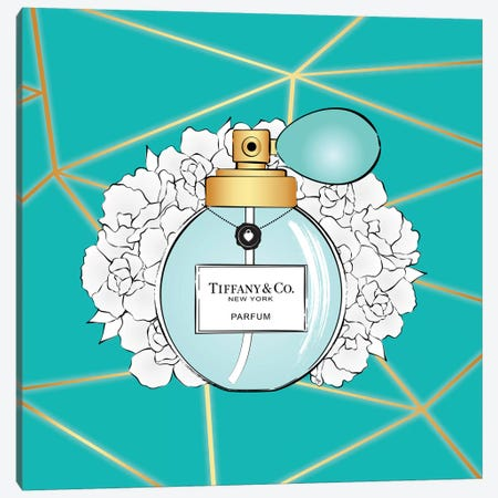 Tiffany Perfume Canvas Print #PAV523} by Martina Pavlova Canvas Artwork