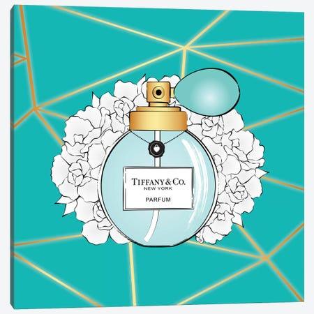Tiffany Perfume Canvas Print #PAV523} by Martina Pavlova Canvas Artwork