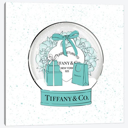 Tiffany Snow Ball Canvas Print #PAV524} by Martina Pavlova Canvas Art Print