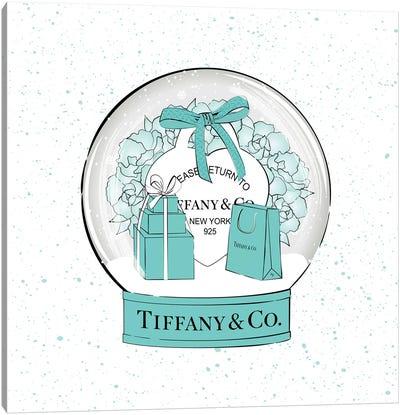 Tiffany Snow Ball Canvas Art Print