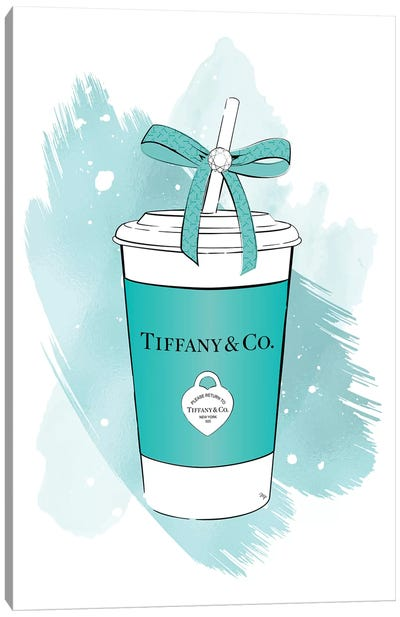Tiffany Soft Drink Canvas Art Print