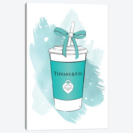 Tiffany Soft Drink Canvas Print #PAV525} by Martina Pavlova Art Print