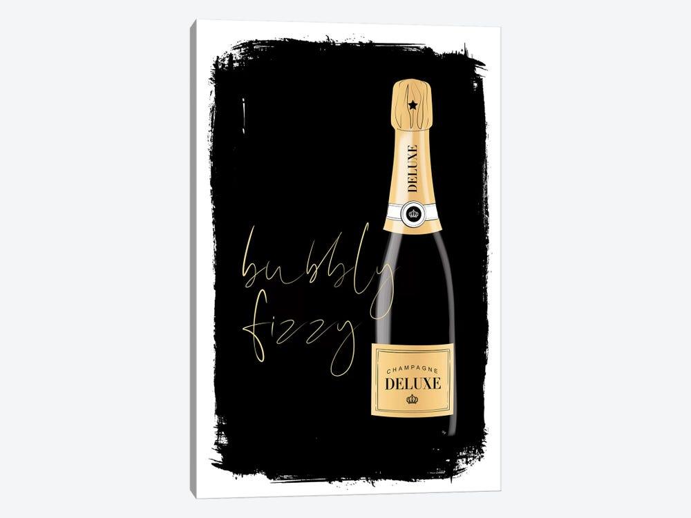 Bubbly Champagne by Martina Pavlova 1-piece Canvas Art Print