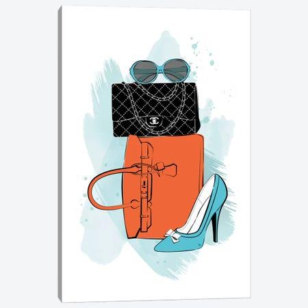 Fashion Time Canvas Print #PAV570} by Martina Pavlova Art Print
