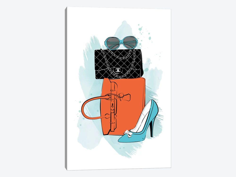 Fashion Time by Martina Pavlova 1-piece Canvas Art Print
