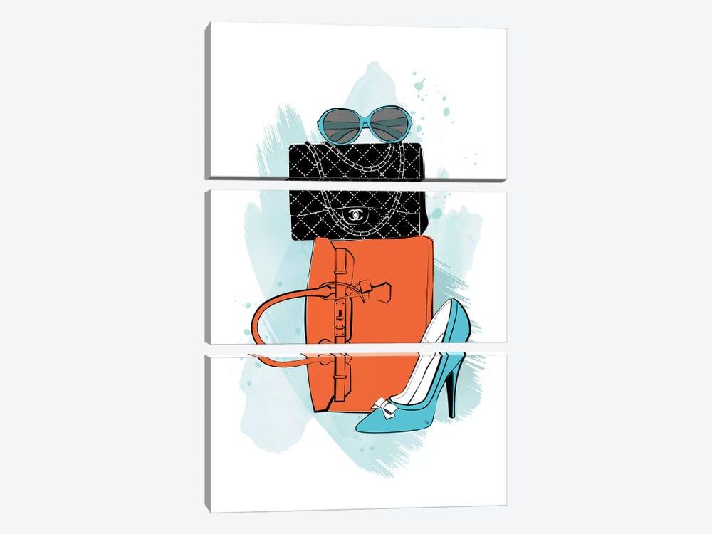 Fashion Time by Martina Pavlova 3-piece Art Print