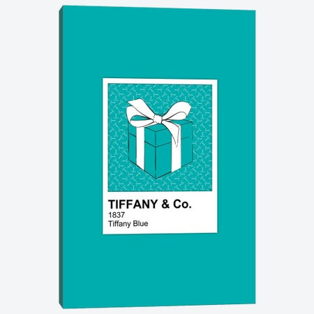 Tiffany Blue Pantone Canvas Print #PAV573} by Martina Pavlova Canvas Print