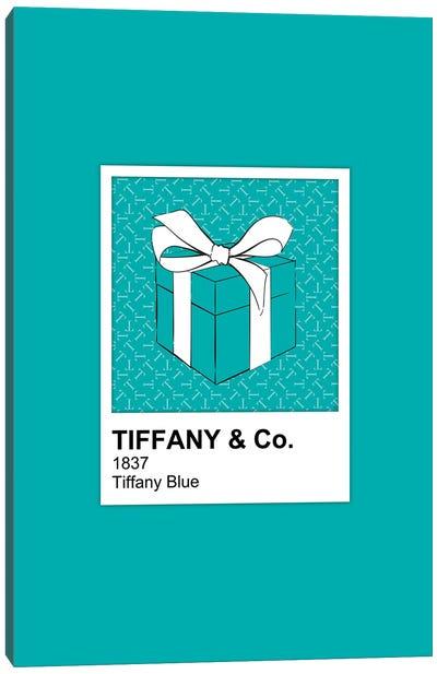 Tiffany Blue Pantone Canvas Art Print