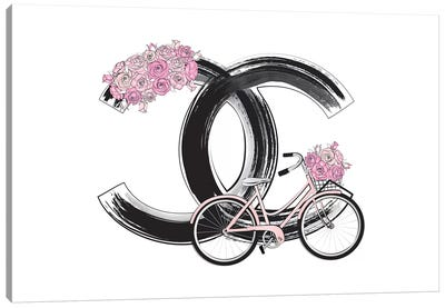 Chanel Bike Canvas Art Print