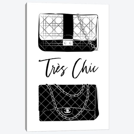 Très Chic Canvas Print #PAV583} by Martina Pavlova Canvas Artwork