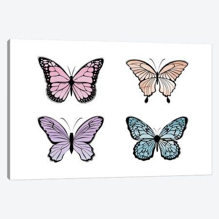 Chasing Butterflies Canvas Print #PAV587} by Martina Pavlova Art Print