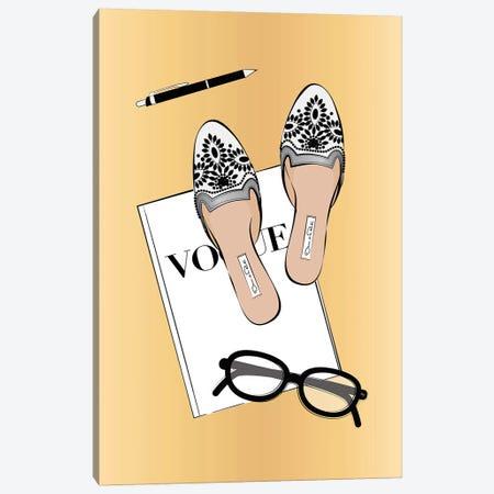 Vogue Life Canvas Print #PAV592} by Martina Pavlova Canvas Art Print