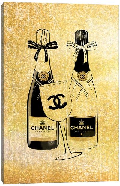 Chanel Champagne Canvas Art Print