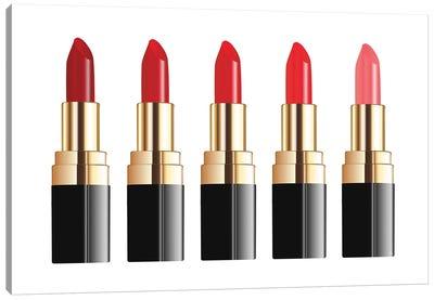 Lipstick Line Canvas Art Print