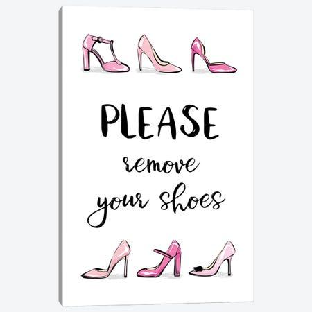 Remove Your Shoes Canvas Print #PAV606} by Martina Pavlova Canvas Artwork