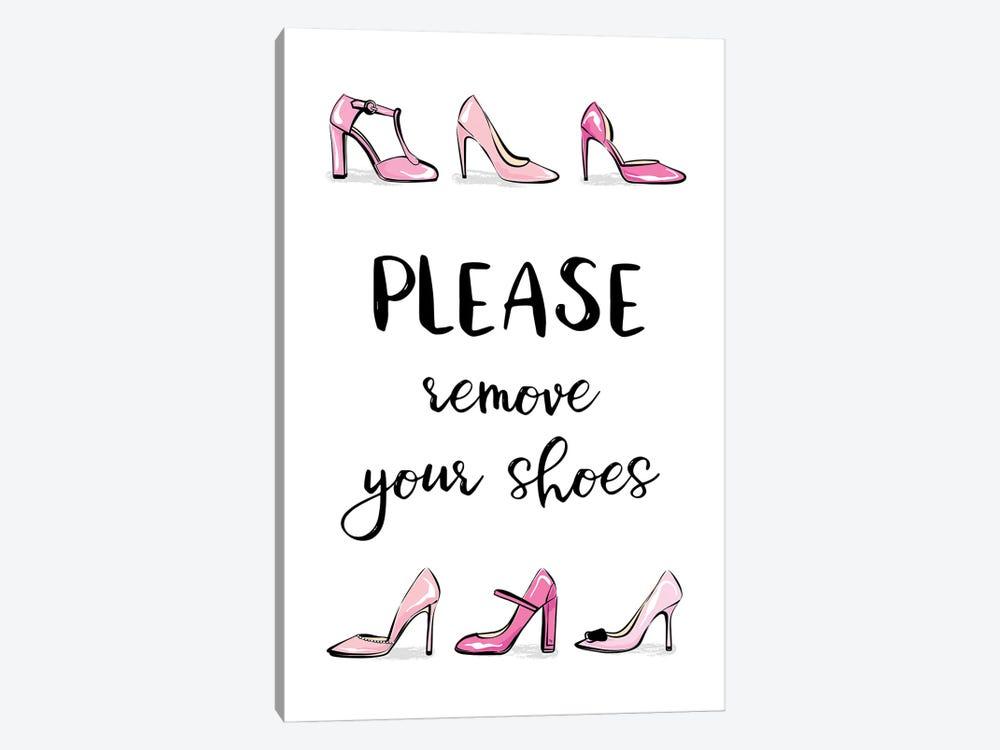 Remove Your Shoes by Martina Pavlova 1-piece Canvas Artwork