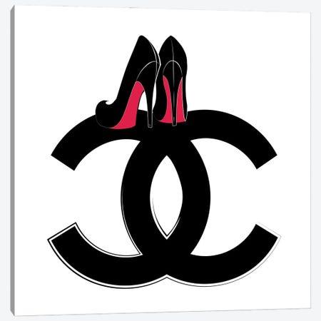 CC Heels Canvas Print #PAV609} by Martina Pavlova Canvas Print