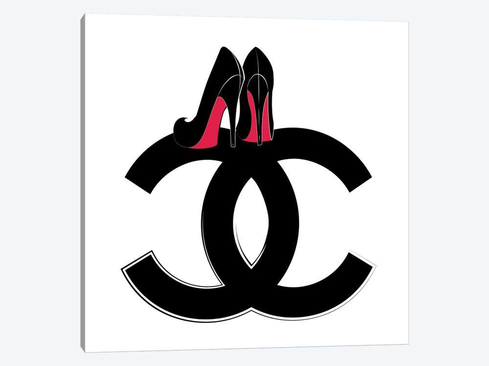 CC Heels by Martina Pavlova 1-piece Canvas Art Print