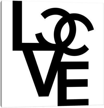 CC Love Canvas Art Print