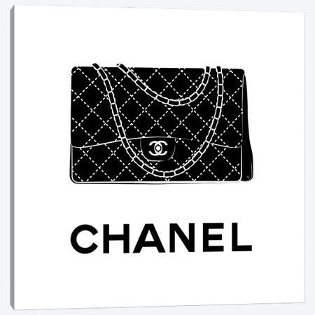 Iconic Chanel Canvas Print #PAV612} by Martina Pavlova Canvas Art