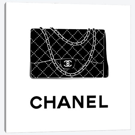 Iconic Chanel 3-Piece Canvas #PAV612} by Martina Pavlova Canvas Art