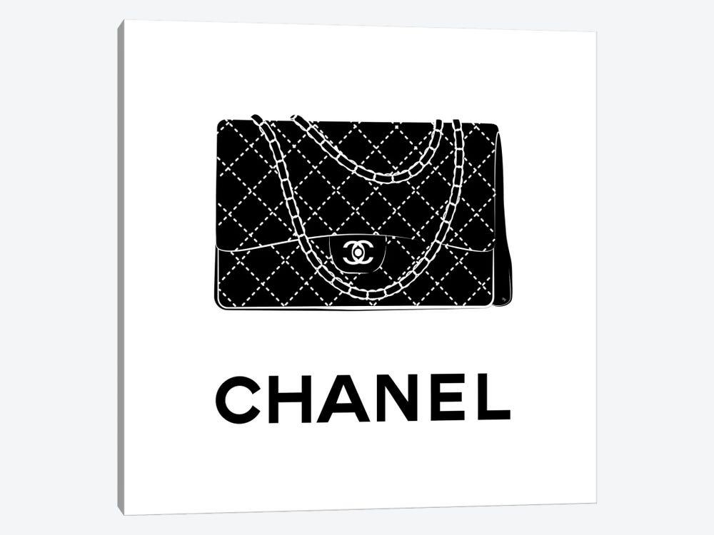 Iconic Chanel by Martina Pavlova 1-piece Canvas Print