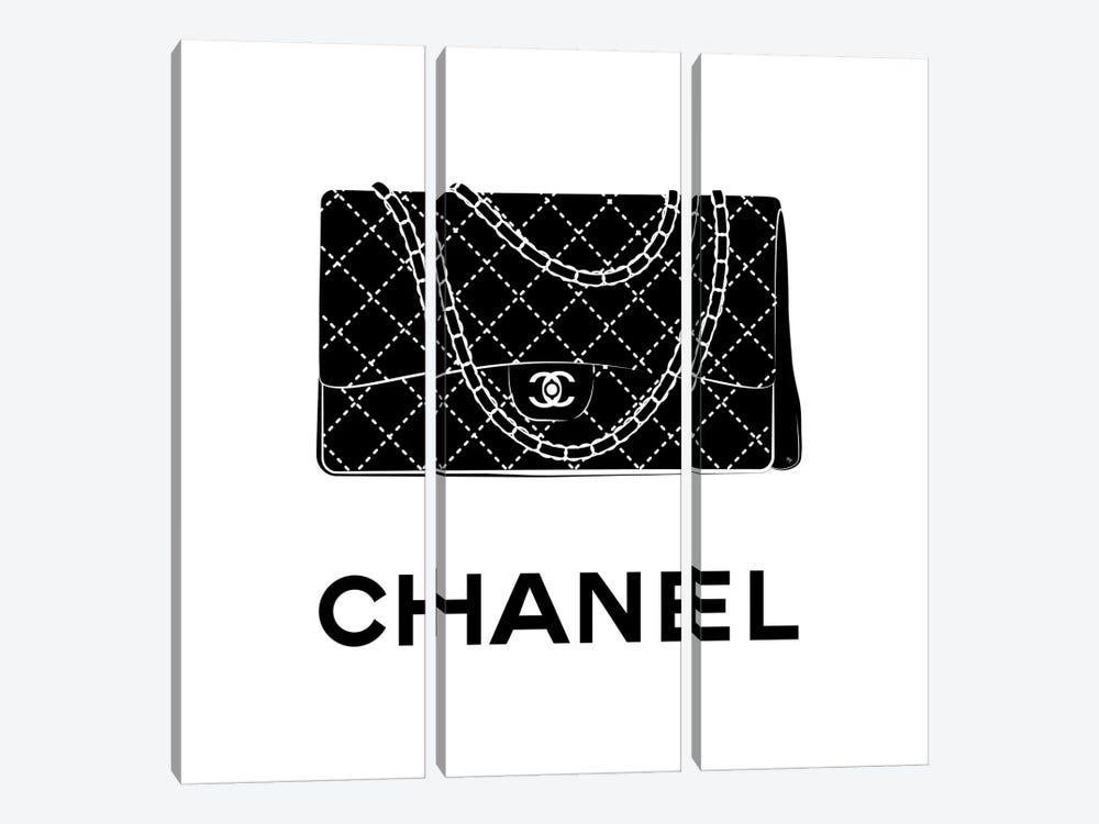 Iconic Chanel by Martina Pavlova 3-piece Canvas Art Print