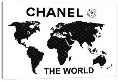 Chanel The World Canvas Art Print
