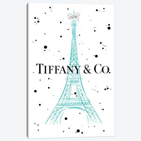 Tiffanys In Paris Canvas Print #PAV620} by Martina Pavlova Art Print