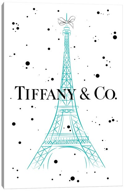 Tiffanys In Paris Canvas Art Print