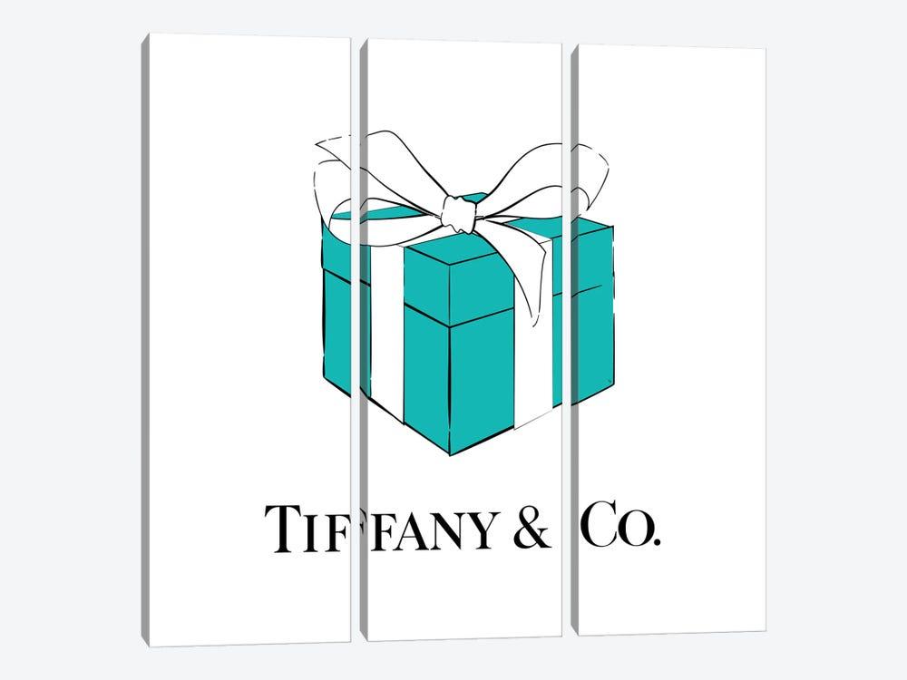 Iconic Tiffanys by Martina Pavlova 3-piece Canvas Print