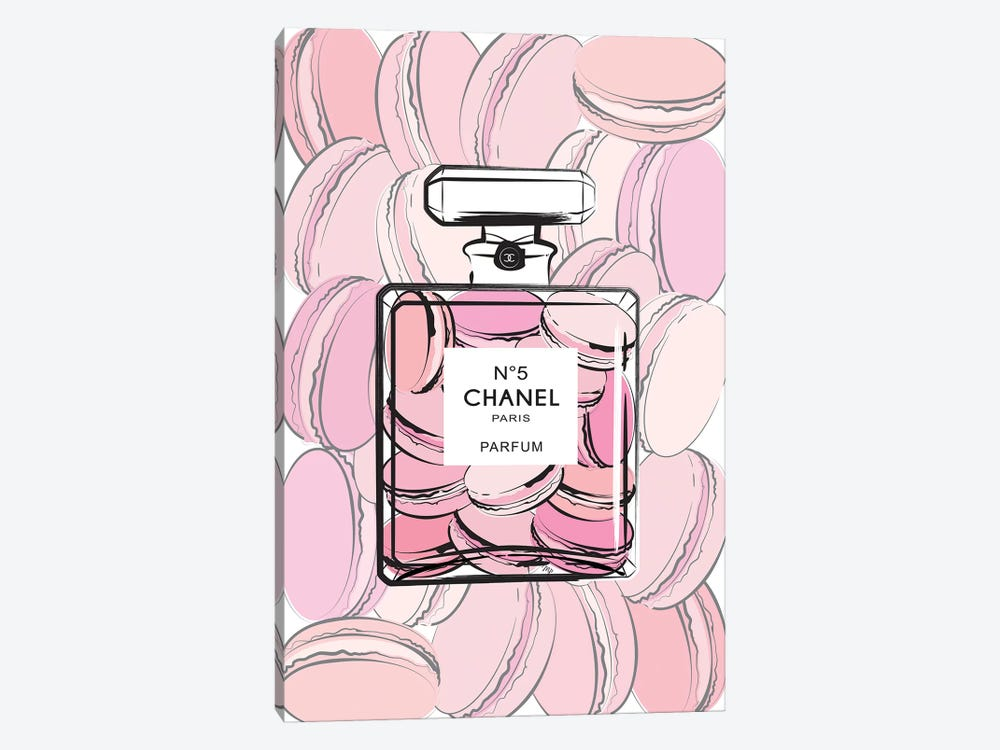 Chanel Macarons 1-piece Canvas Print
