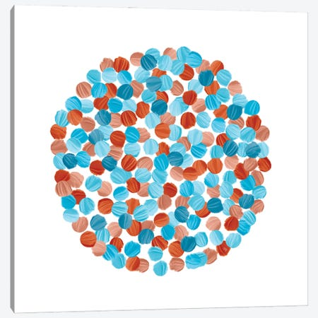 Blue Seeds Canvas Print #PAV634} by Martina Pavlova Canvas Print