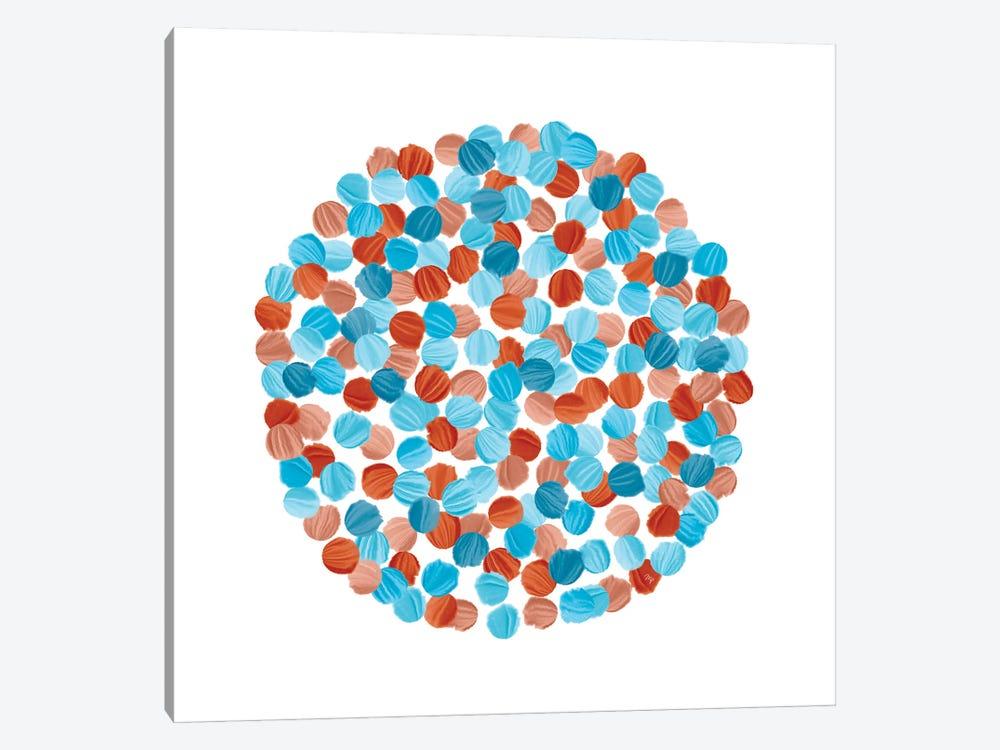 Blue Seeds by Martina Pavlova 1-piece Canvas Print