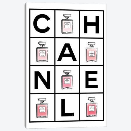 Chanel Perfumes Canvas Print #PAV63} by Martina Pavlova Canvas Art
