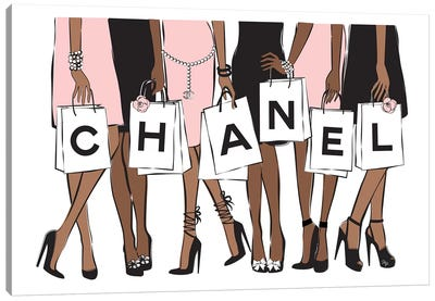 Chanel Shopping II Canvas Art Print